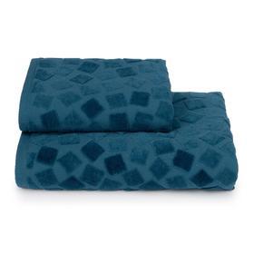 Полотенце махровое Piccolo mosaico ПЦС-2601-4476 цв.18-4222 50х90, синий, хл100%, 460г/м2