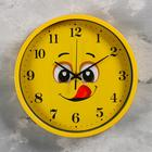 """Wall clock, series: Children's, """"Smile"""" d=30 cm, 1 AA, smooth running"""