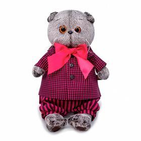 Мягкая игрушка «Басик в рубашке и штанах», 25 см