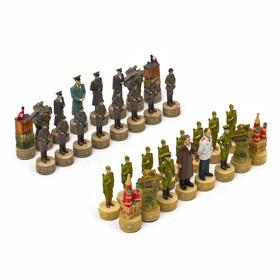 """Шахматные фигуры """"Победные"""" (h короля=8 см, h пешки=6,3 см)"""