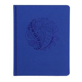 Дневник для музыкальной школы Music waver, иск. кожа, твёрдая обложка, ляссе, тонированный блок, 70 г/м2, 48 листов