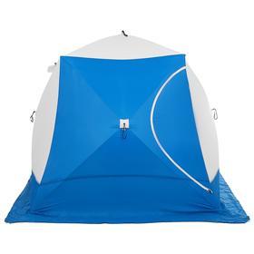Палатка зимняя «СТЭК» КУБ 3-местная, трёхслойная, дышащая ДМ