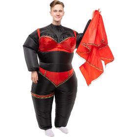 Костюм надувной «Стриптизёрша», рост 150-190 см, цвет чёрный
