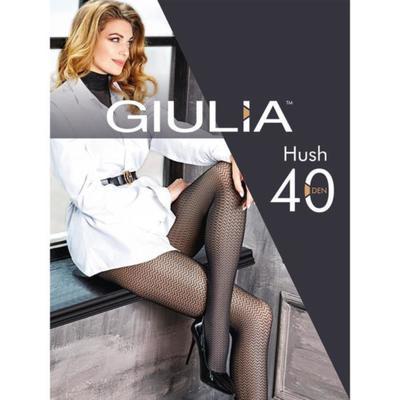 Колготки женские HUSH 40 ден, цвет чёрный (nero), размер 2 (S)