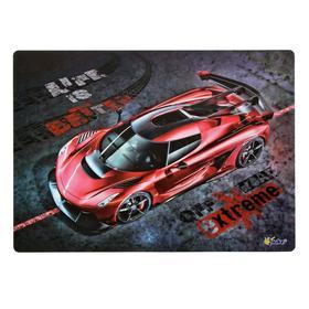 Накладка на стол, пластиковая, А4, 339 х 224 мм, «Оникс», КН-4, 500 мкм, «Красная машина»