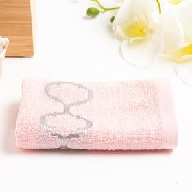 Полотенце махровое Дрезден розовый 70*130 см, хлопок 100% 400гр/м2