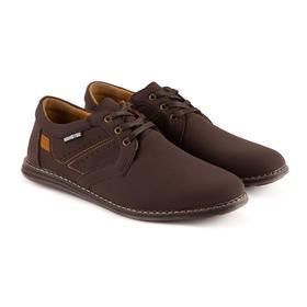 Туфли мужские, цвет коричневый, размер 41
