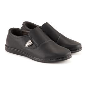 Туфли мужские, цвет чёрный, размер 40