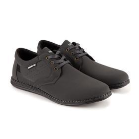 Туфли мужские, цвет серый, размер 41