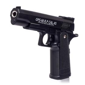 Пистолет «Чёрный ястреб», с металлическими элементами
