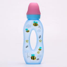 Бутылочка для кормления «Рожок», 270 мл., цвет МИКС