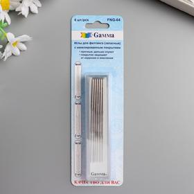 A set of needles for felting in a blister 6 pcs. No. 40 thin - 2 pcs., No. 38 medium - 2 pcs., No. 36