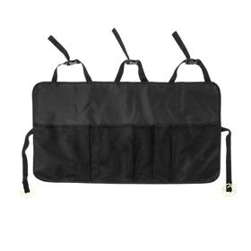 The organizer in the back seat 87 x 47 cm, 4 pockets, black