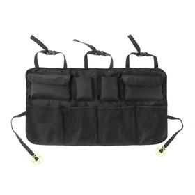 The organizer in the back seat 87 x 47 cm, 8 pockets, black