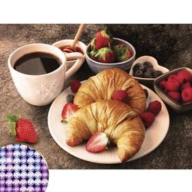 Алмазная вышивка с частичным заполнением «Вкусный завтрак» 30х40 см, холст, ёмкость