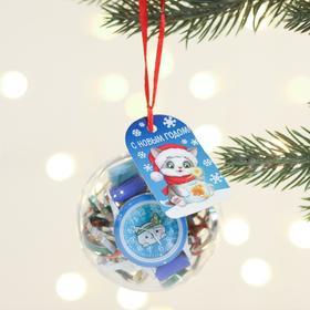 Часы детские наручные в шаре «Новый год», 6 см