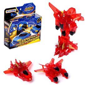 """Робот-трансформер """"Скоростная трансформация"""", трансформируется при столкновенни 2 шт. в комп"""