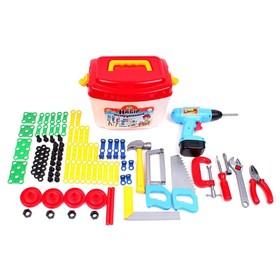 Набор инструментов, 94 элементов, в чемодане