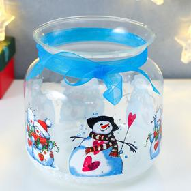 "Candlestick ""Snowmen Lemos"""
