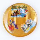 "Candle holder ""New year stories"" square"