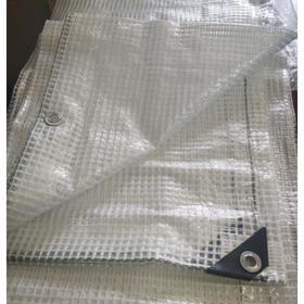 Тент армированный, 2 × 3 м, плотность 120 г/м², с люверсами Ош