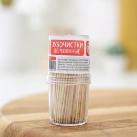 Зубочистки Доляна из берёзы, 190 шт/уп