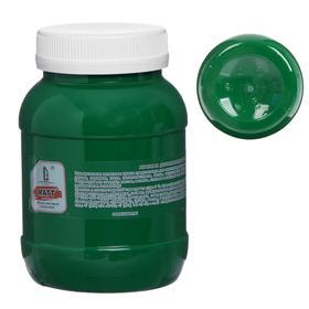 Краска акриловая 500мл, LUXART, цвет матовый зелёный T11