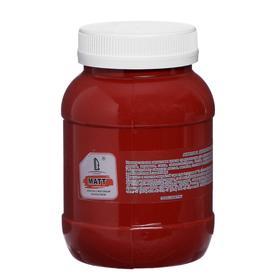Краска акриловая 500мл, LUXART, цвет матовый красно-коричневый T6