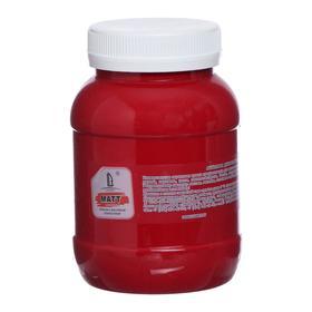 Краска акриловая 500мл, LUXART, цвет матовый малиновый T5