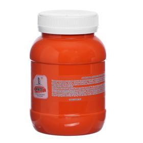 Краска акриловая 500мл, LUXART, цвет матовый оранжевый T8