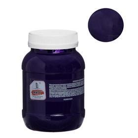 Краска акриловая 500мл, LUXART, цвет матовый фиолетовый T18