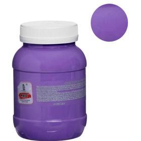 Краска акриловая 500мл, LUXART, цвет матовый фиолетовый яркий T23