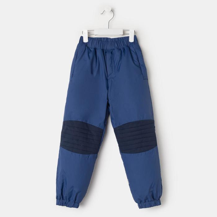 Брюки для мальчика, цвет синий, рост 92 см - фото 2362305
