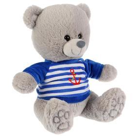 Мягкая игрушка «Медведь», 22 см в тельняшке, музыкальный чип, стихи А. Барто