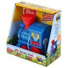 Музыкальный паровозик «Синий трактор», световые и звуковые эффекты - фото 76664981