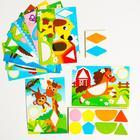 """Mosaic templates """"Merry zveryata"""""""
