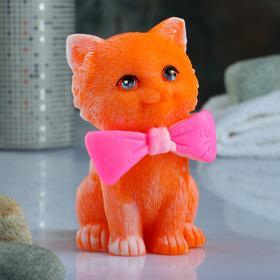 """Фигурное мыло """"Котёнок с бантиком"""" 150гр"""