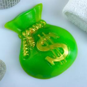 """Фигурное мыло """"Мешок долларов"""" 95гр"""