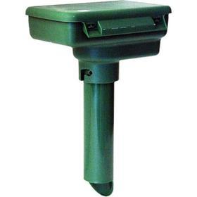 Отпугиватель кротов Weitech WK-0675, ультразвуковой, до 100 м2, 125 дБ, зелёный
