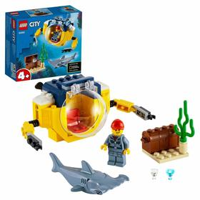 Конструктор Lego City «Океан: мини-подлодка»