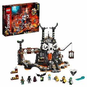 Конструктор Lego NINJAGO «Подземелье колдуна-скелета»