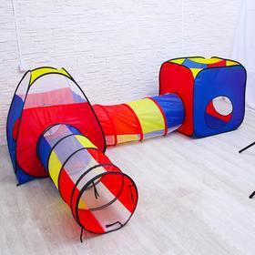Детский игровой модуль «Лабиринт» 382×100×83 см