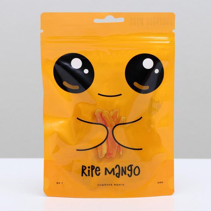 """Сушёное манго """"Ripe mango"""" (без сахара)  80 г - фото 22901"""