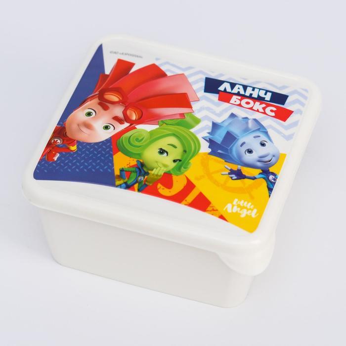 Детский контейнер для продуктов «ФИКСИКИ», 450 мл. - фото 495835