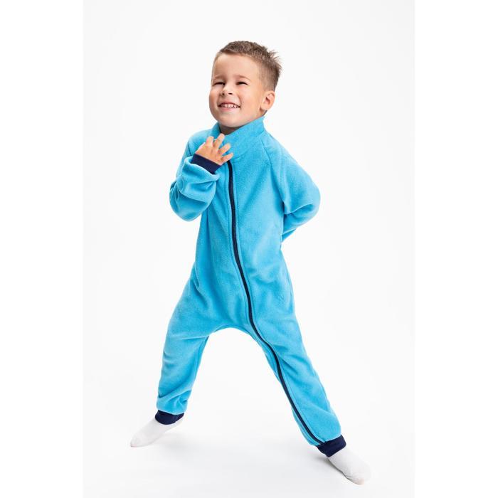 Комбинезон для мальчика, цвет голубой, рост 80-86 см (24)