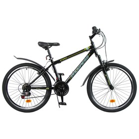 """Велосипед 24"""" Progress модель Stoner RUS, цвет черный, размер 15"""""""