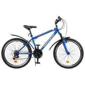 """Велосипед 24"""" Progress модель Stoner RUS, цвет синий, размер 15"""""""