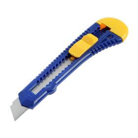 Нож KUBIS 04-03-0118, выдвижное лезвие, 18 мм