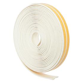 Rubber seal I-profile, white, in a package of 10m