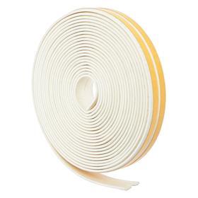 Уплотнитель резиновый I-профиль, белый, в упаковке 10м